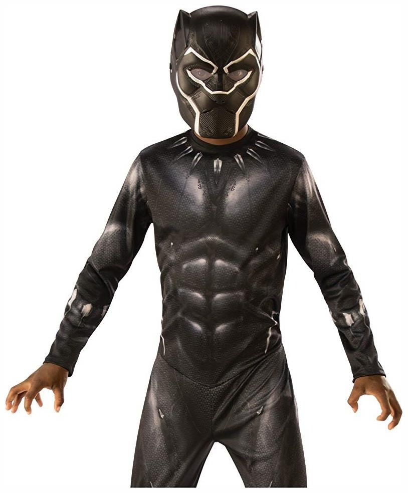 3bb31311 Marvel Black Panther Movie Child 3/4 Costume Mask   Kids and ...