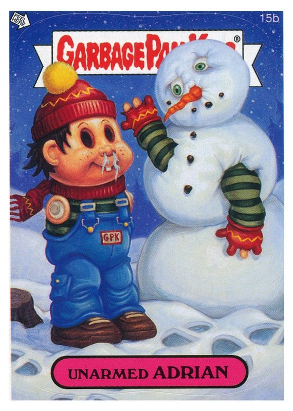 DeJarnette - Garbage Pail Kids Illustrations snowman
