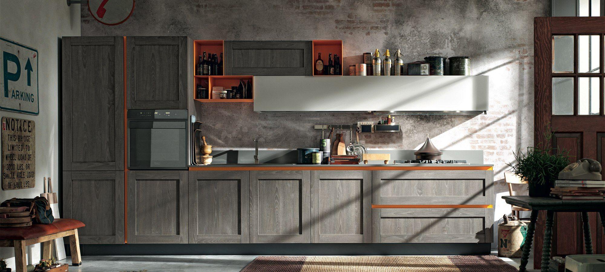 cucine moderne stosa - modello cucina city 02   bucatarie ...