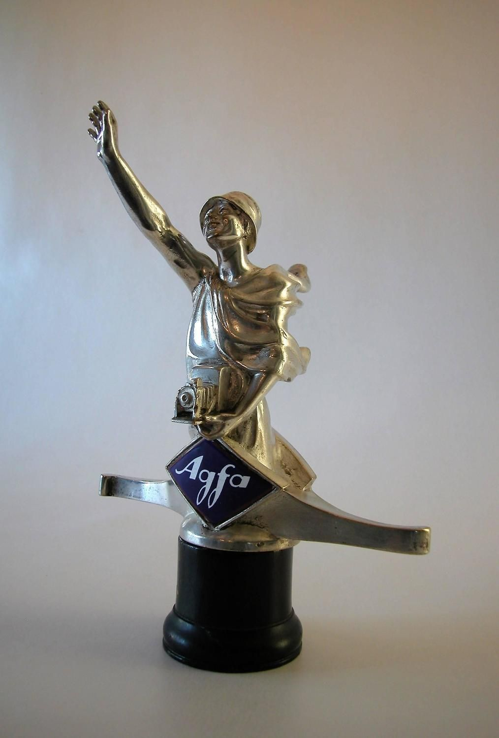 Rare hood ornaments - One Of The Most Rare Car Mascots Hood Ornament In The World Made For