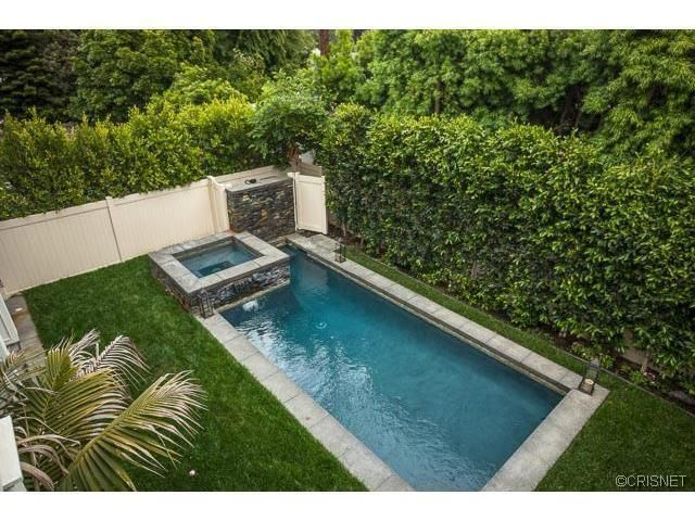 12216 Cantura St, Studio City, CA 91604 is part of Small pool design, Small backyard pools, Pools for small yards, Backyard pool designs, Backyard, Backyard pool -