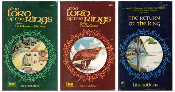 Image result for the lord of the rings book covers