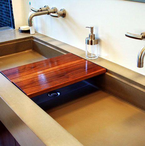 James De Wulf Concrete Art Concrete Kitchen Concrete Sink Kitchen Sink Options