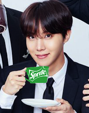 J Hope And His Love For Sprite Youtube