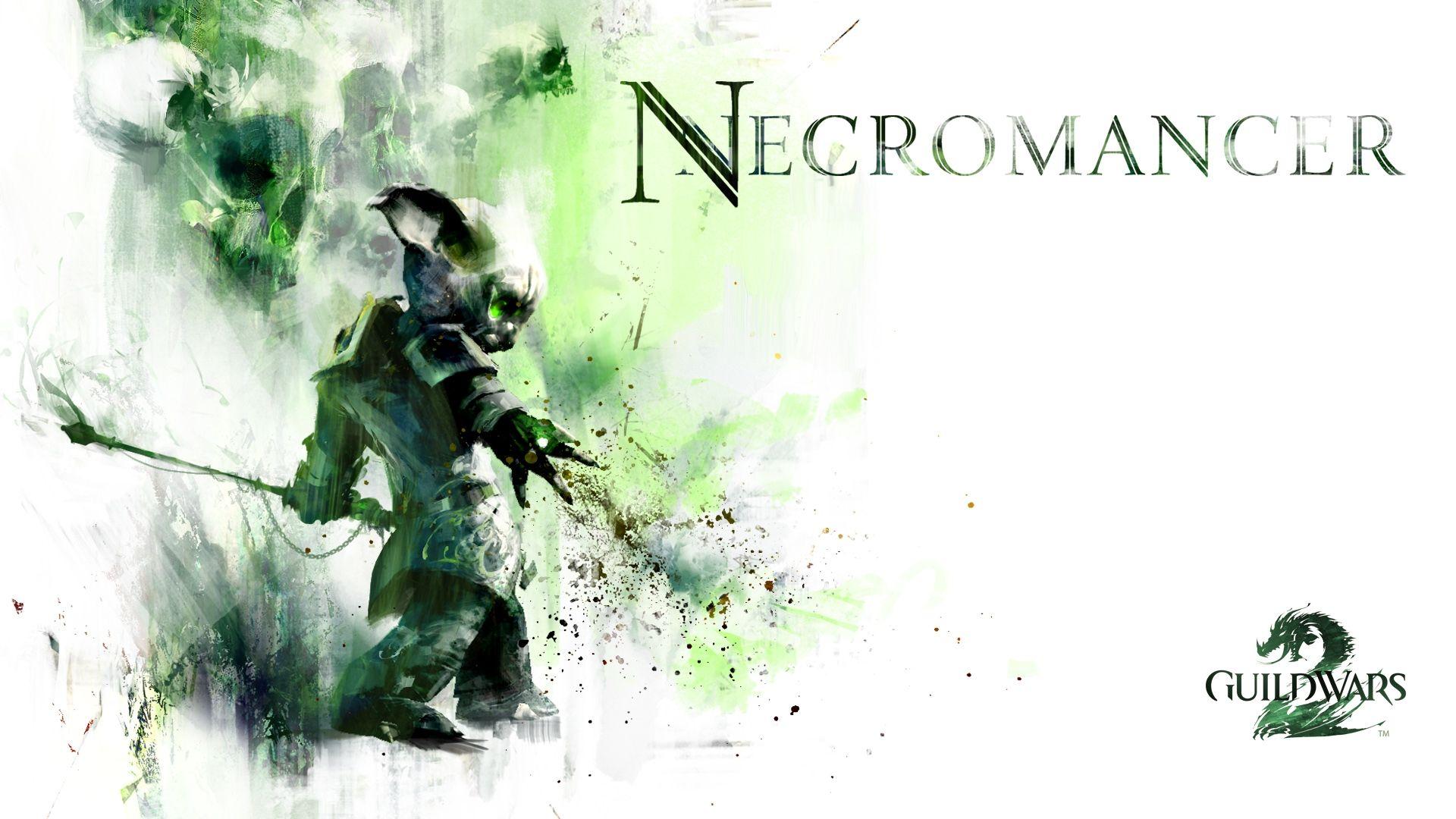 Beautiful Guild Wars 2 Necromancer Graphics Name Wallpaper
