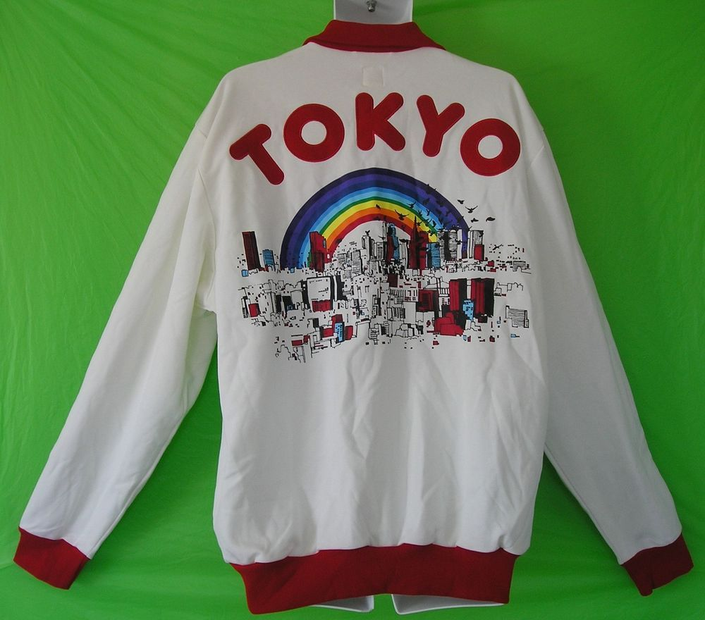 79c614fd3 VERY RARE~Adidas TOKYO Track sweat shirt Top superstar Jacket firebird~Mens  2XL-  adidas  CoatsJackets