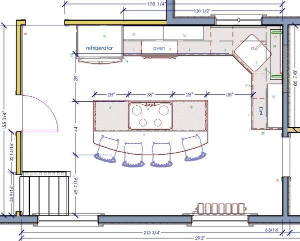 Kitchen Floor Plans Ideas Kitchen Design Ideas Kitchen Layout Plans Kitchen Design Plans Kitchen Designs Layout