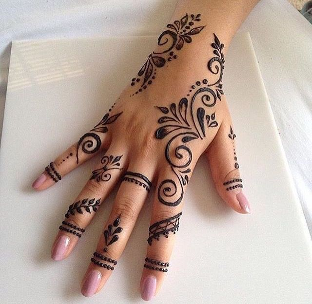 Henna Mich Hubsch Simple Henna Tattoo Henna Tattoo Designs Henna Tattoo Designs Simple