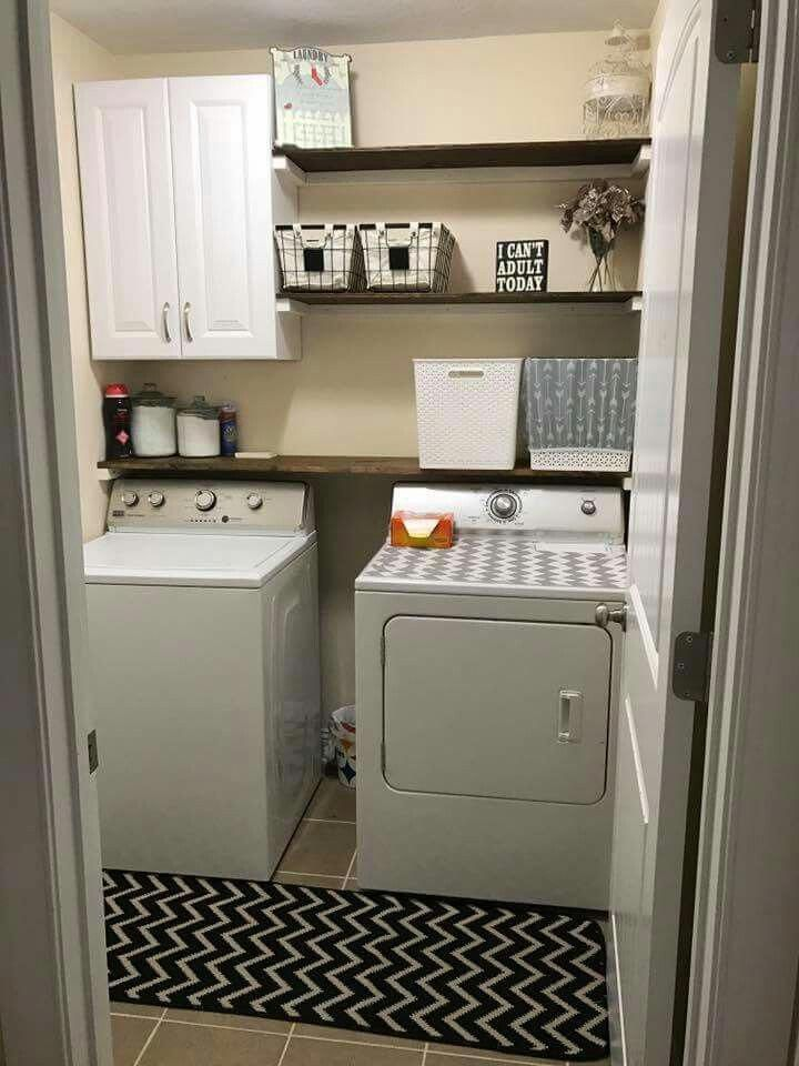 45+ Best Laundry Room Cabinets: Pictures, Ideas & Designs images