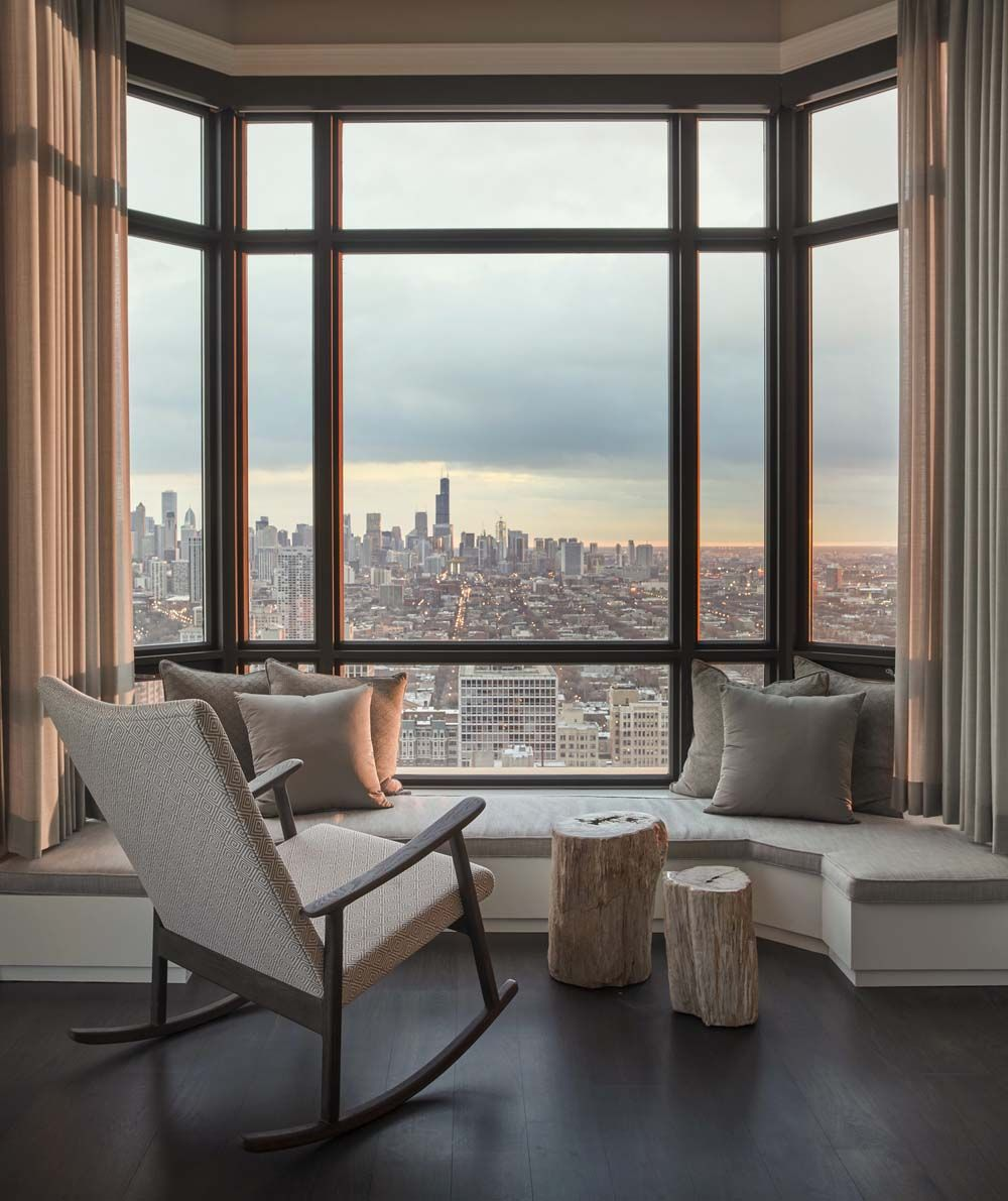 Lakeview Apartment In Chicago Transformed Into Serene Environment Luxury Apartments Interior Design Apartment View