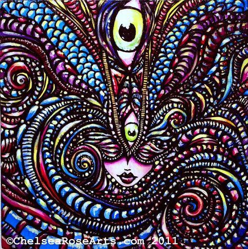 Psychic Eye Painting