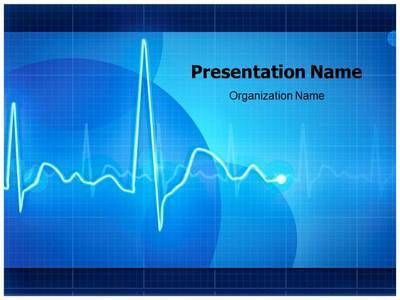 electrocardiogram powerpoint presentation template is one of the, Powerpoint templates