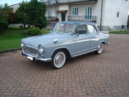 Simca Aronde Monthlery (1960) Maintenance of old vehicles: the material for new cogs/casters/gears could be cast polyamide which I (Cast polyamide) can produce