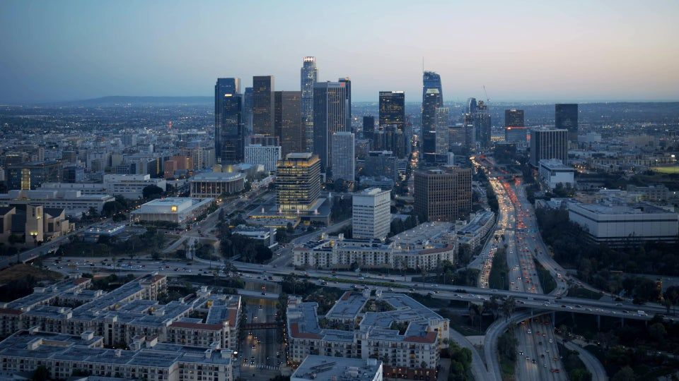 4k Aerial View Of Los Angeles Live Wallpaper 3840 X 2160 Wallpapers Live Wallpapers Aerial View Wallpaper