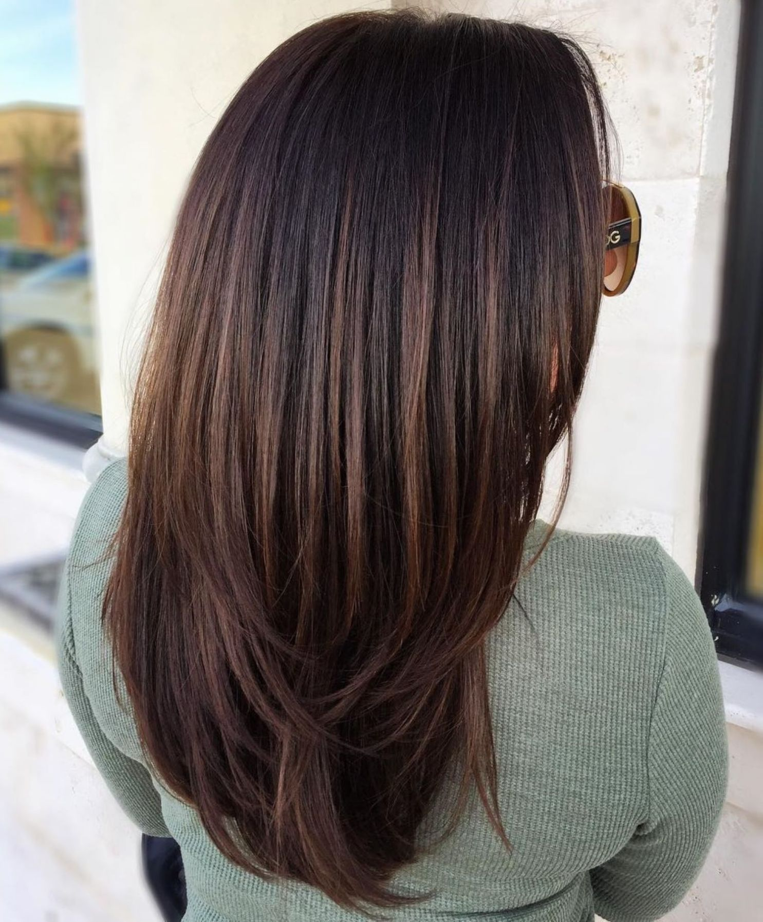 60 Chocolate Brown Hair Color Ideas For Brunettes Chocolate Brown Hair Color Hair Color Chocolate Black Hair Balayage