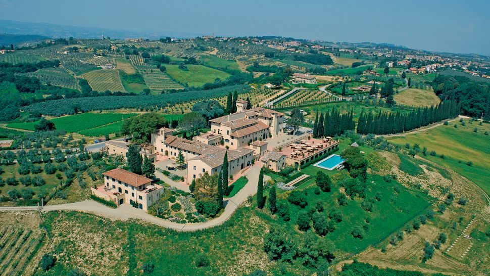 Castello Del Nero Boutique Hotel Spa Is At The Heart Of Renaissance Italy Amongst
