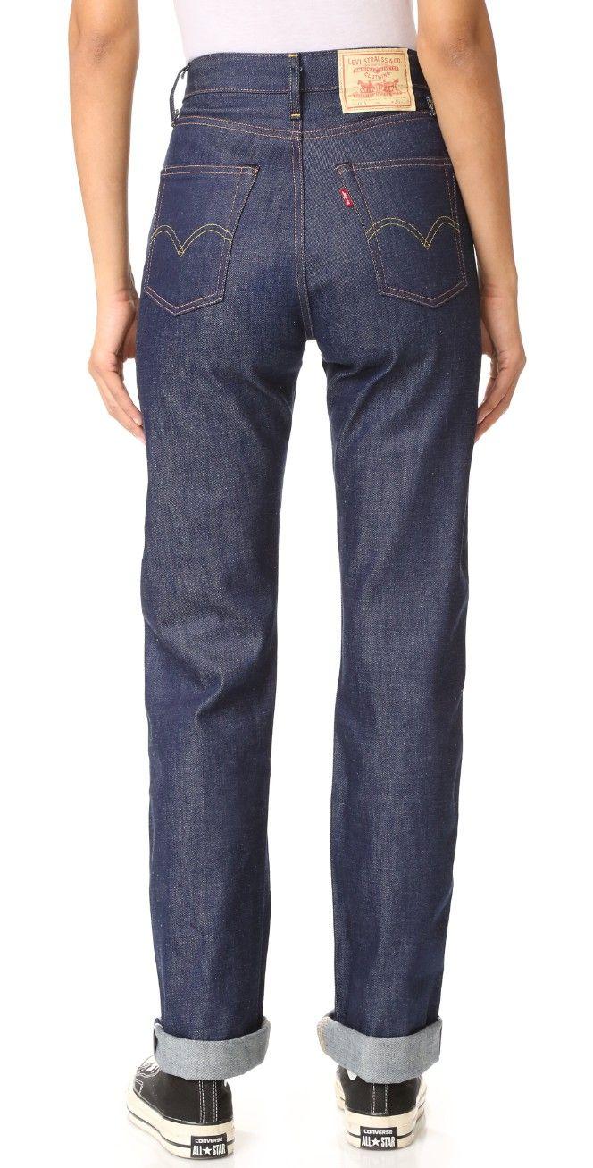 Levi s Levi s Vintage Clothing 1950 s 701 Jeans  e2b69e7dd8f