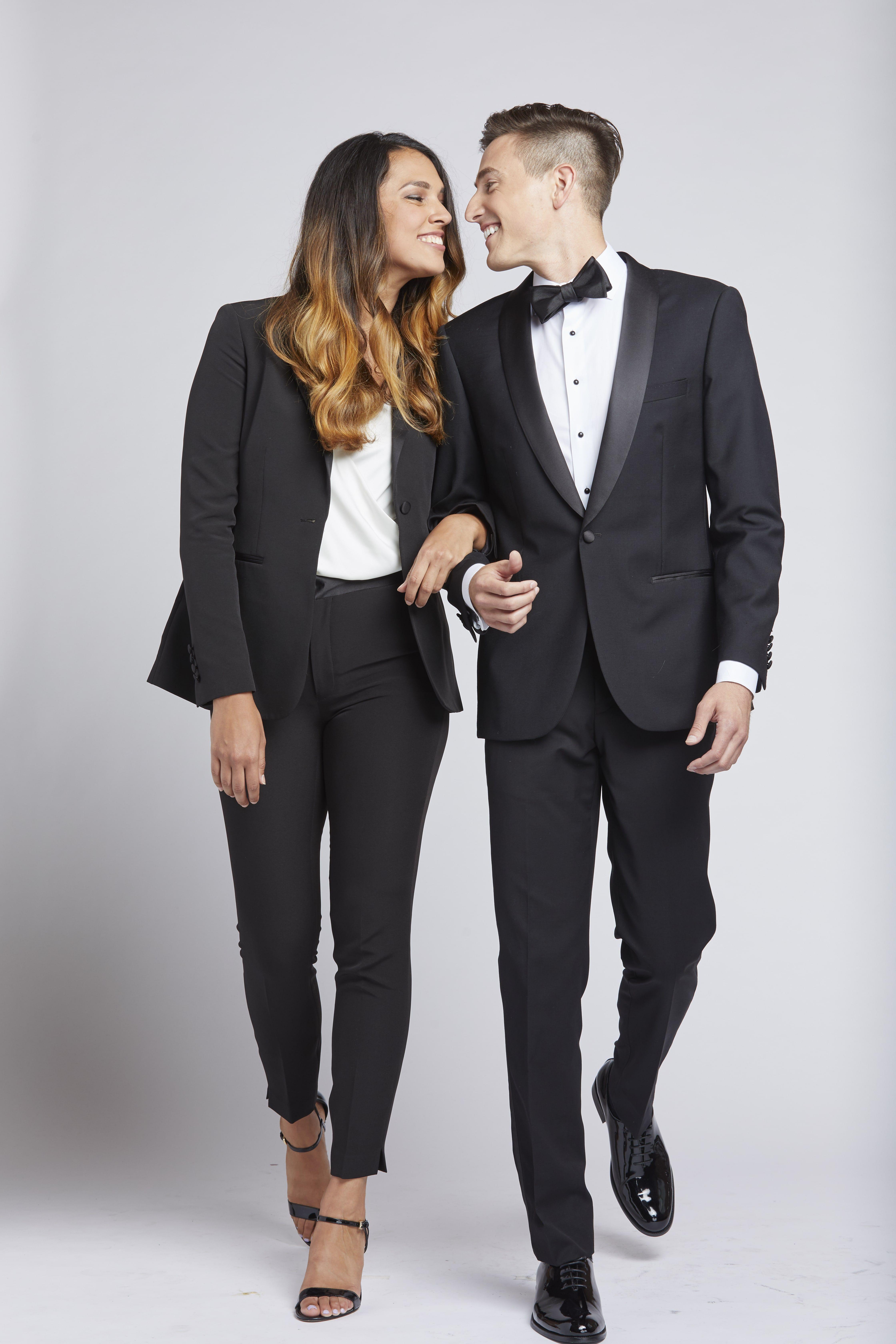 Women S Black Tuxedo Tuxedo Women Women Suits Wedding Womens Suits Wedding [ 6720 x 4480 Pixel ]