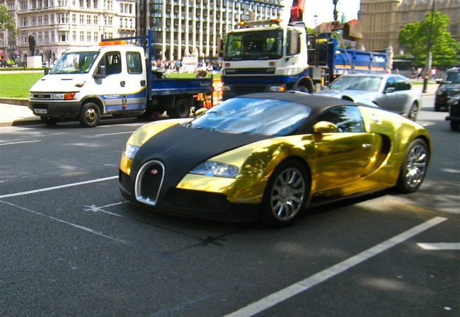 Gold Plated Bugatti Veyron   $10 Million This Gold Plated Bugatti Veyron  Was Made