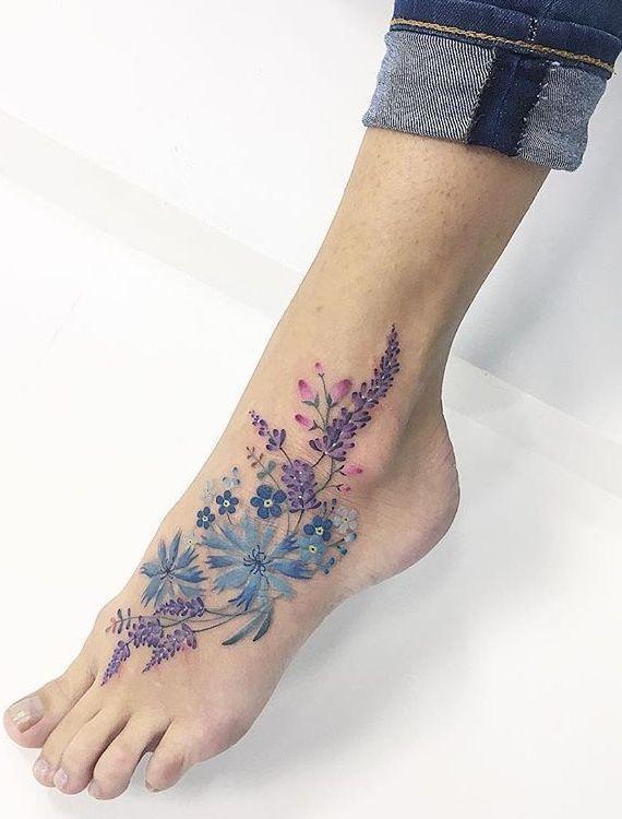 Flower tattoo tattoo - flower tattoo tattoo - #blood ... -  Tattoo flower tattoo – tattoo flower tattoo – #blutentatowierung #compasstattoo #flowertattoo # - #blood #flower #foottattoos #tattoo #tattooideasforguys