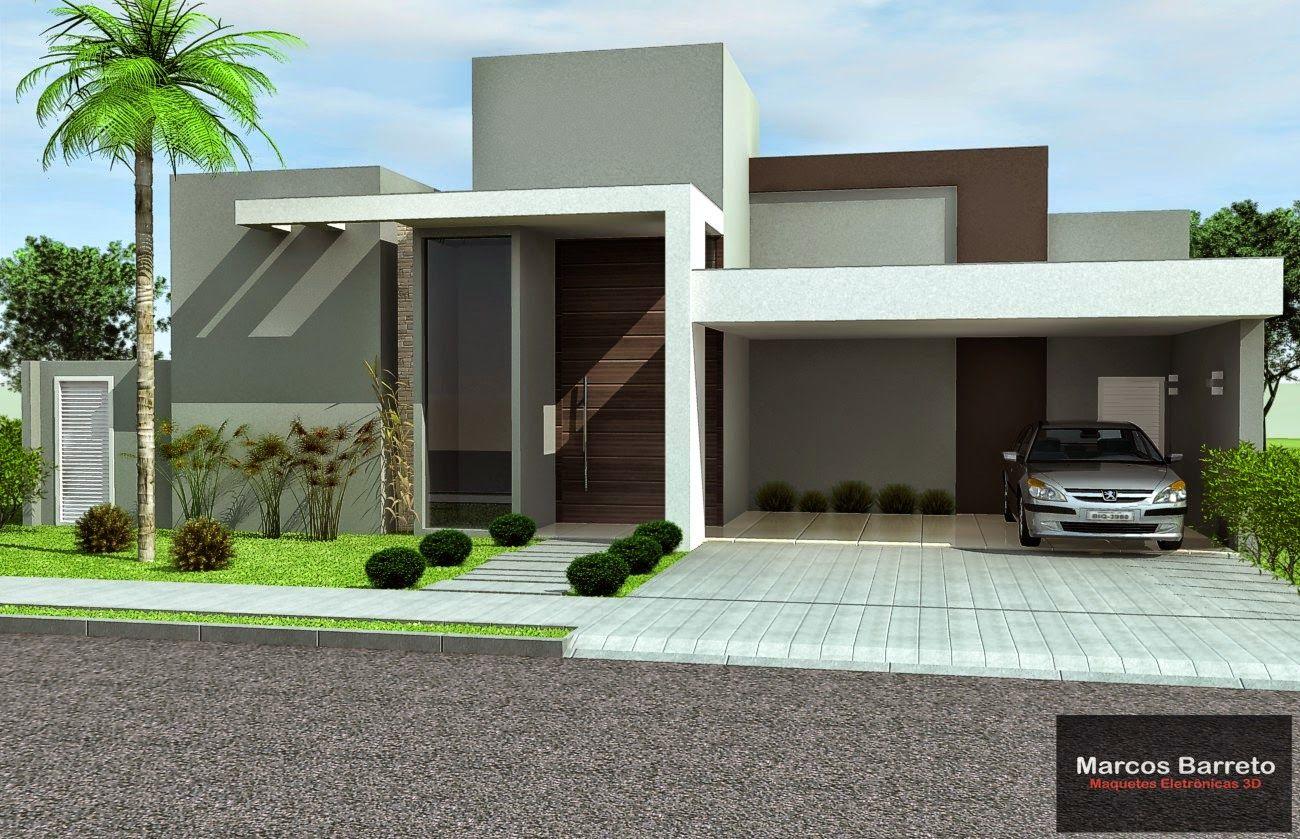 Progetti Esterni Case : Site marcos barreto projetos arquitetônicos villa esterni casa