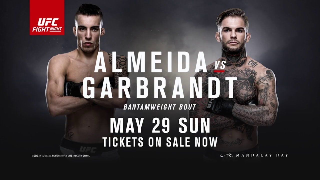 cody garbrandt knocks out thomas almeida in brutal fashion cody