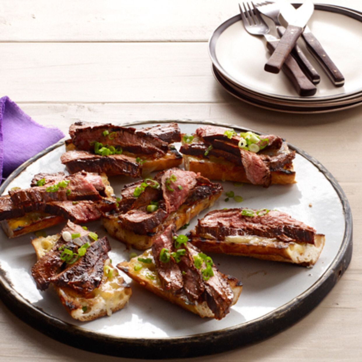 Flank Steak With Balsamic Barbecue Sauce | Recipe