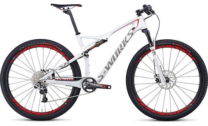 Yes, I want one of these!  Specialized Mountain bike model SWorks Epic -29 WC.