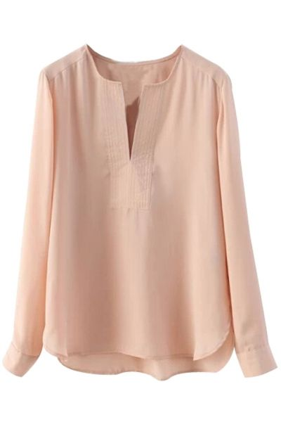 00cb27c465c Must-Have Solid Chiffon Blouse