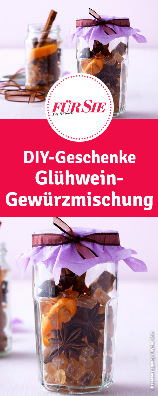 Weihnachtsdeko Geschenke.Glühwein Gewürzmischung Zum Verschenken Christmas Food Diy