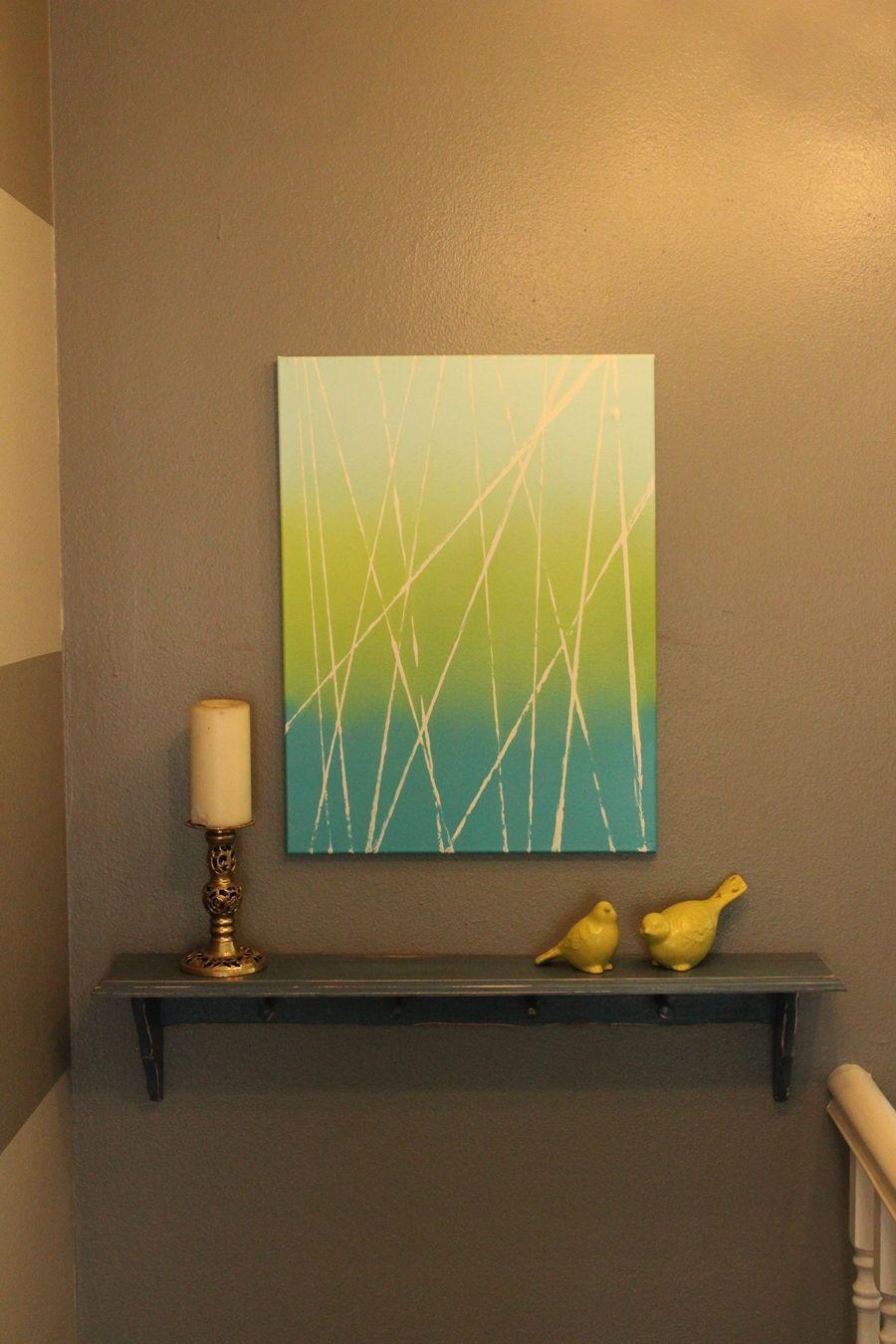 DIY Abstract Art – Quick & Customized Modern Artwork | Pinterest ...