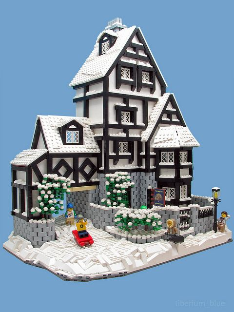 The Sleepy Oak Lego Christmas Lego House Lego Winter