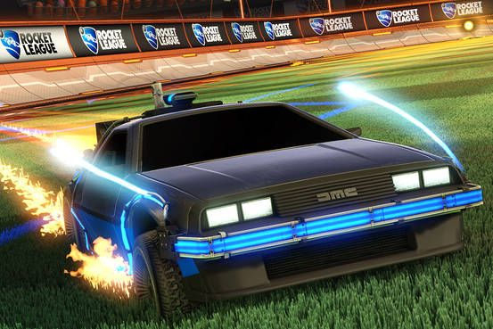 How Rocket League Became 2015 S Surprise Videogame Hit Rocket League Back To The Future Rocket League Wallpaper