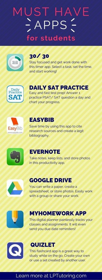 Student Apps Student Productivity Education Apps High School