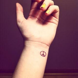 Small Tattoo Small Tattoos Peace Tattoos Tattoos