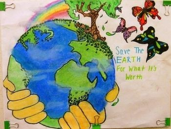 poster ideas | Go green in 2019 | Earth day posters, Save earth