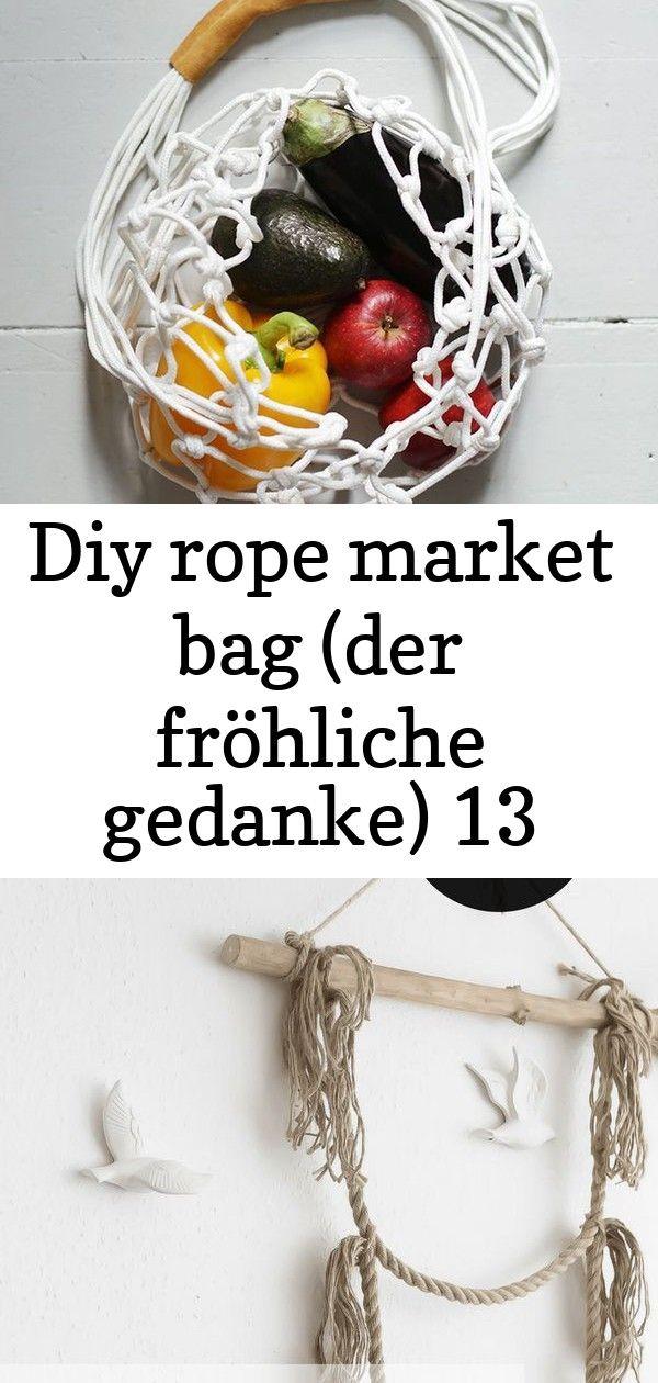 Diy rope market bag (der fröhliche gedanke) 13 #wanddekoselbermachen