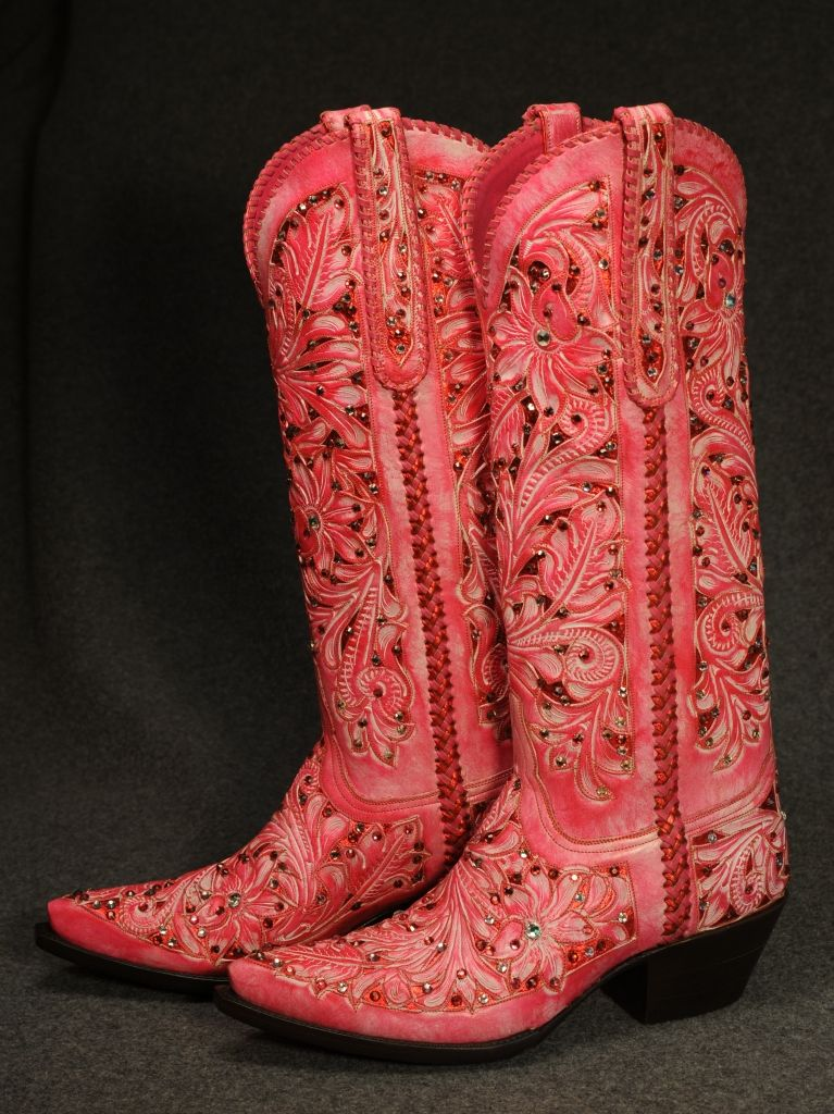Tres Outlaws, Gypsy Rose collection. Those crappy rhinestones almost take the awesome out of it.