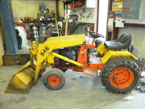 Nice old Case 646 loader   Garden Tractors    Tractor loader