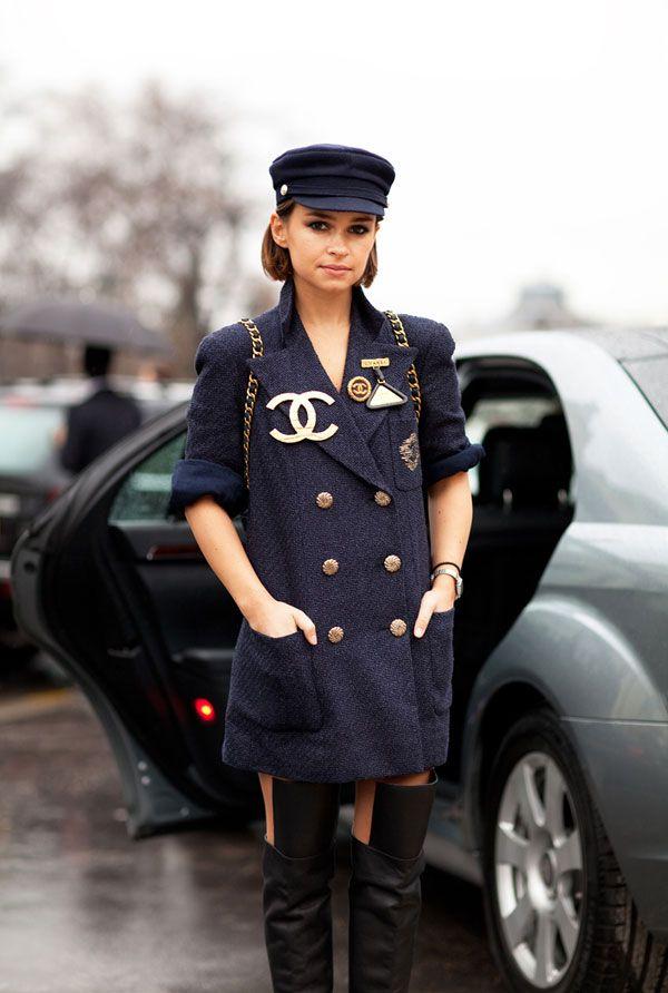 Paris Fashion Week Fall 2012 : Street Style