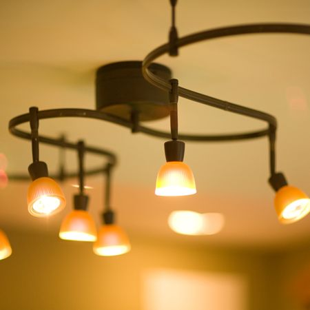 Beautiful popular rustic ceiling fans with lights for hall - Track lighting ideas for bedroom ...