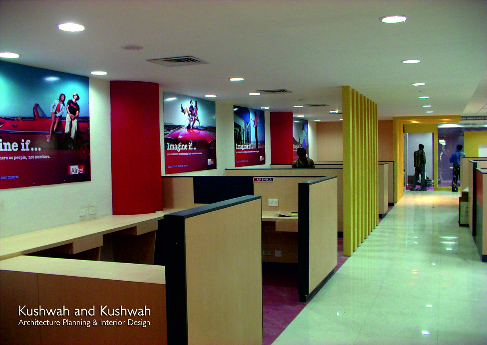 Airtel Zonal Office At Bhopal Designed By Rakesh Singh Kushwah