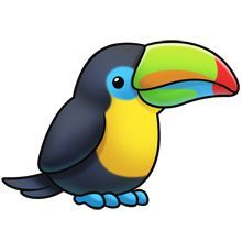 toucan clipart best craft pinterest rock rock painting and rh pinterest com baby toucan clipart baby toucan clipart