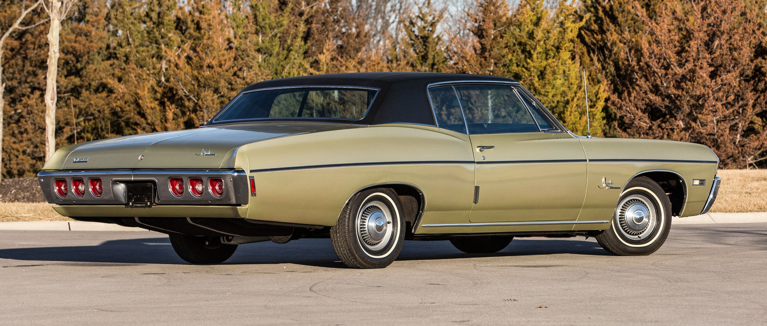 Low-mileage, unrestored 1968 Chevrolet Impala SS sells for ...