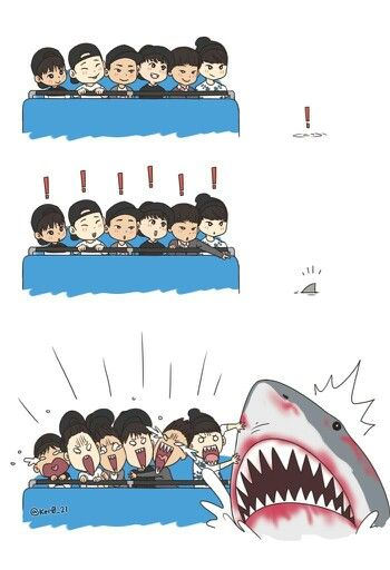 Latest Funny Ilustrations  jung chanwoo x kim jiwon x jung jinhyeong x song yunhyeong x kim donghyuk x yang hongseok fanart 9