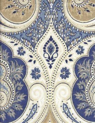 116400 Delta Paisley Fabric