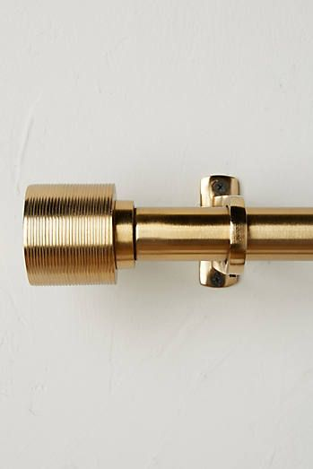 Celine Curtain Rod Set Curtain Rods Gold Curtain Rods Brass