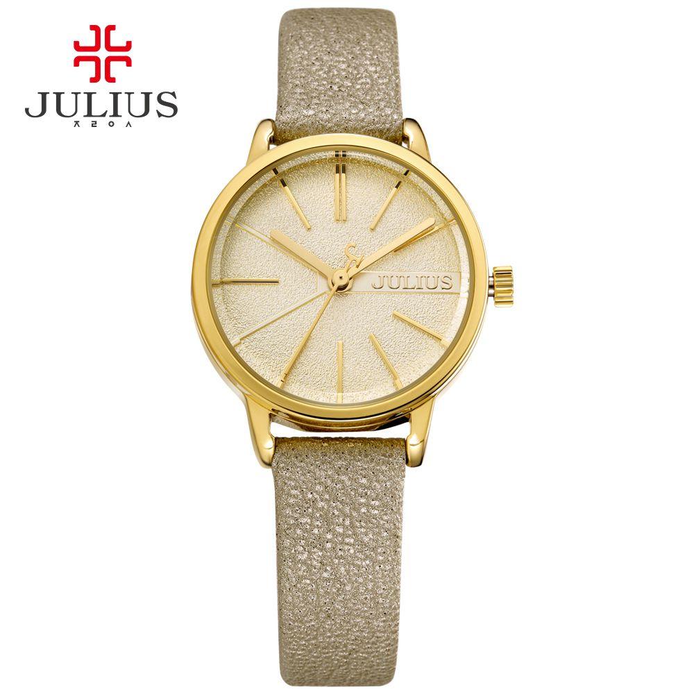 2385427fd24 JULIUS Women s Watches Brand Luxury Fashion Ladies Watch Japan Movt Quartz  Watch Price Cheap Promotion WR30m Watch With Logo 944