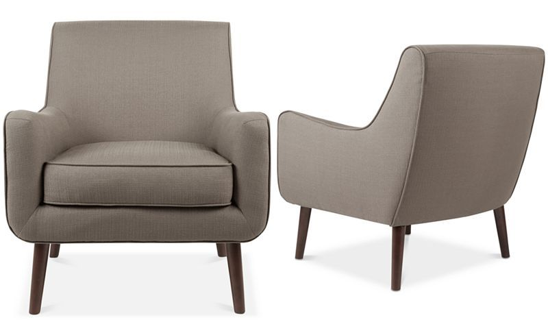 Furniture Flint Fabric Accent Chair Reviews Chairs Furniture