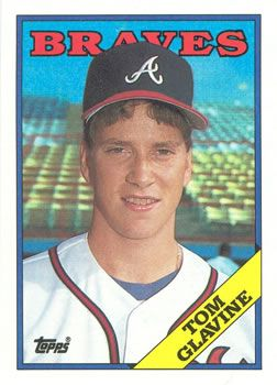 The Trading Card Database 1988 Topps 779 Tom Glavine Baseball Cards Tom Glavine Baseball Trading Cards